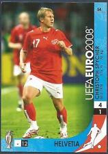 PANINI UEFA EURO 2008 TRADING CARD- #054-HELVETIA-SWITZERLAND-CHRISTOPH SPYCHER