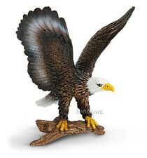 Schleich 14634 Bald Eagle Model Bird Animal Toy Figurine - NIP