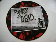 EXPLOITED - PUNK'S NOT DEAD - LP PICTURE DISC VINYL - BRAND NEW 2007