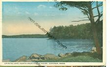 GARDNER, MASSACHUSETTS-CRYSTAL-LAKE-NORTH FROM POWER HOUSE-1919(MASS-G)