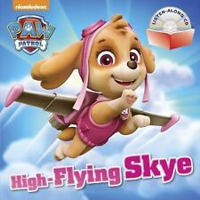Book and CD: High-Flying Skye (PAW Patrol) by Random House (2016, Paperback)