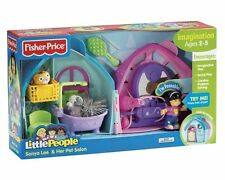 FISHER PRICE LITTLE PEOPLE SONYA LEE & HER PET SALON W/ SOUND L3939 2007 *NEW*