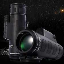 Adjustable Day & Night Vision 40X60 HD Optical Monocular Hunting Sport Telescope