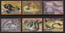 PAPUA NEW GUINEA SG1140/5 2006 SNAKES MNH