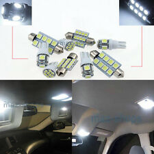 Xenon White LED Interior Light Kit 6Pcs Package FIT SsangYong Rexton 01-05 W1