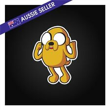 Jake The Dog Sticker Decal - Adventure Time My Family Finn Funny Car Truck Wall