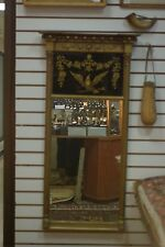 Antique Victorian Period Federal Style Mirror with Eagle motif AS/IS was Painted