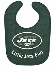 New York Jets All-Pro Baby Bib [NEW] NFL Infant Newborn Polyester Terrycloth