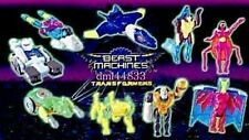 2000 McDonalds Beast Machines Transformers MIP Complete Set - Lot of 9, Boys, 3+