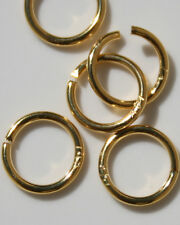 14K GOLD FILLED CIRCLE CLASP CONNECTOR RING PERFECT FOR CHAINS PENDENTS 7 mm