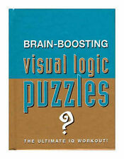 Brain Boosting Visual Logic Puzzles (Puzzle Books) Very Good Book