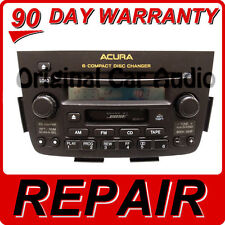 REPAIR ONLY for 01 02 03 04 Acura MDX Radio Stereo 6 Disc Changer CD Player