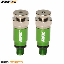 New RFX Green Fork Air Bleeders Bleeder M5x0.8 Kayaba Showa Kawasaki KX 125 250/