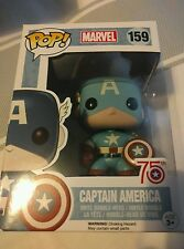 Captain America Funko Pop 75th Anniversary Sepia Tone - Marvel.