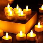 1/12/24/36PCS LED Tea Light Candles Realistic Battery-Powered Flameless Candles