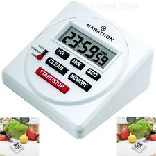 NEW Large Digital 24 Hour Timer with Countdown, Count-up and Clock