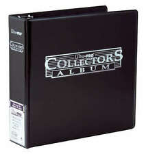 Ultra Pro 3 Ring Collector Album Storage Folder Binder MTG Yugioh Pokemon- BLACK