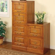 Coaster 5318N - Palmetto Oak File Cabinet with 4 Drawers