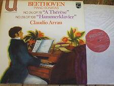 6580 104 Beethoven Piano Sonatas Nos 24 'A Therese' & 29 'Hammerklavier' / Arrau