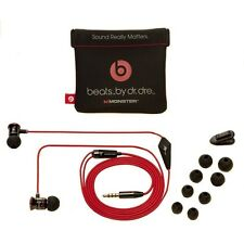 Original iPhone Beats by Dr. Dre Monster In Ear Kopfhörer Headset iPad Schwarz