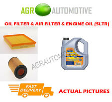 DIESEL OIL AIR FILTER KIT + LL 5W30 OIL FOR VAUXHALL ASTRA 2.0 82 BHP 1998-02