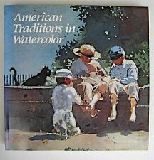 American Traditions in Watercolor: The Worcester Art Museum Collection, Strickle