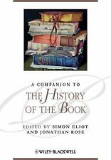 A Companion to the History of the Book by
