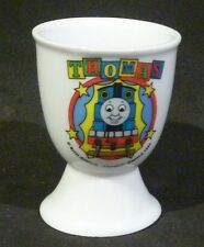 THOMAS THE TANK ENGINE  CERAMIC EGGCUP/ EGG CUP  BRITT ALLCROFT 1999