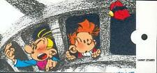 Tome Janry Spirou Fantasio pochette 6 Stamp Vignettes Timbres 1996