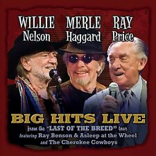 WILLIE NELSON & MERLE HAGGARD & RAY PRICE 2016 UNRELEASED LIVE CONCERT CD