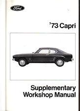 Cortina de Ford Taunus/Mk 3 1974 Modelos Original Suplemento Manual de taller