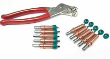 "Cleco Fastener & Cleco Plier 1/8"" Temporary Fastener w/ No Mar Caps 21 piece Kit"