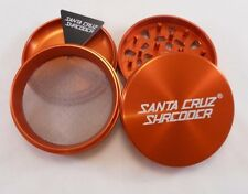 "Large 2.75"" Orange 4 Piece SANTA CRUZ SHREDDER Grinder"