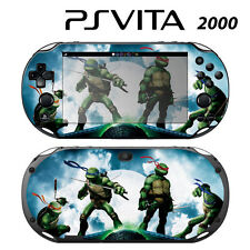 Vinyl Decal Skin Sticker for Sony PS Vita Slim 2000 Ninja Turtles TMNT 2