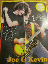 The Jonas Brothers, The Cheetah Girls, Double Four Page Foldout Poster