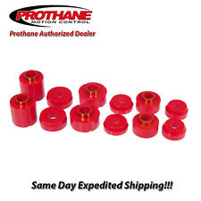 Prothane 1983-1997 Ford Ranger 2WD 4WD Body Mount Bushing Kit 12PCS 6-106
