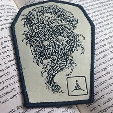 GREEN  DRAGON TACTICAL 2D ARMY AIRSOFT SWAT OPS HOOK  PATCH