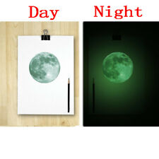 Hot Luminous Moon Glow In The Dark Wall Stickers Moonlight Home Decor DIY Mural