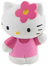HELLO KITTY WITH FLOWER FIGURINE collectable toy. kids girls party bags