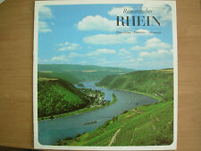 VINTAGE TOURIST BROCHURE ROMANTIC RHINE CRUISE GERMANY 1960's