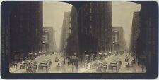 Chicago - Dearborn Street - Wunderbare Stereofotografie um 1900