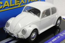 SCALEXTRIC C3362 VW VOLKSWAGEN BEETLE 1959 WHITE NEW 1/32 SLOT CAR DPR