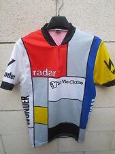 VINTAGE Maillot cycliste LA VIE CLAIRE Tour France 1985 cycling shirt 5 Hinault