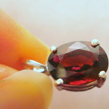 2.84ct Natural  Rare Red Spessartite Garnet Pendant