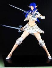 Elf rose girl lineage II 2 sword 1/6 unpainted statue figure model resin kit