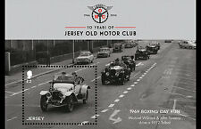 Jersey - Postfris/MNH - Sheet Old Cars Club 2016