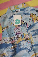New in Bag, BODEN Sleeveless Shirt Top - Riveria Print - Size 8 UK / 4 US