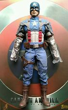 "Hot toys mms156 Captain America The First Avenger 1/6 Scale ""12"" figures only"