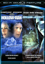 Hollow Man & Hollow Man 2 NEW 2 DVDs Kevin Bacon