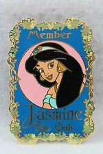 Disney DA Auctions P.I.N.S. Aladdin Member Jasmine Fan Club LE 500 Pin